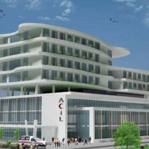 bursa hospital seismic isoltated